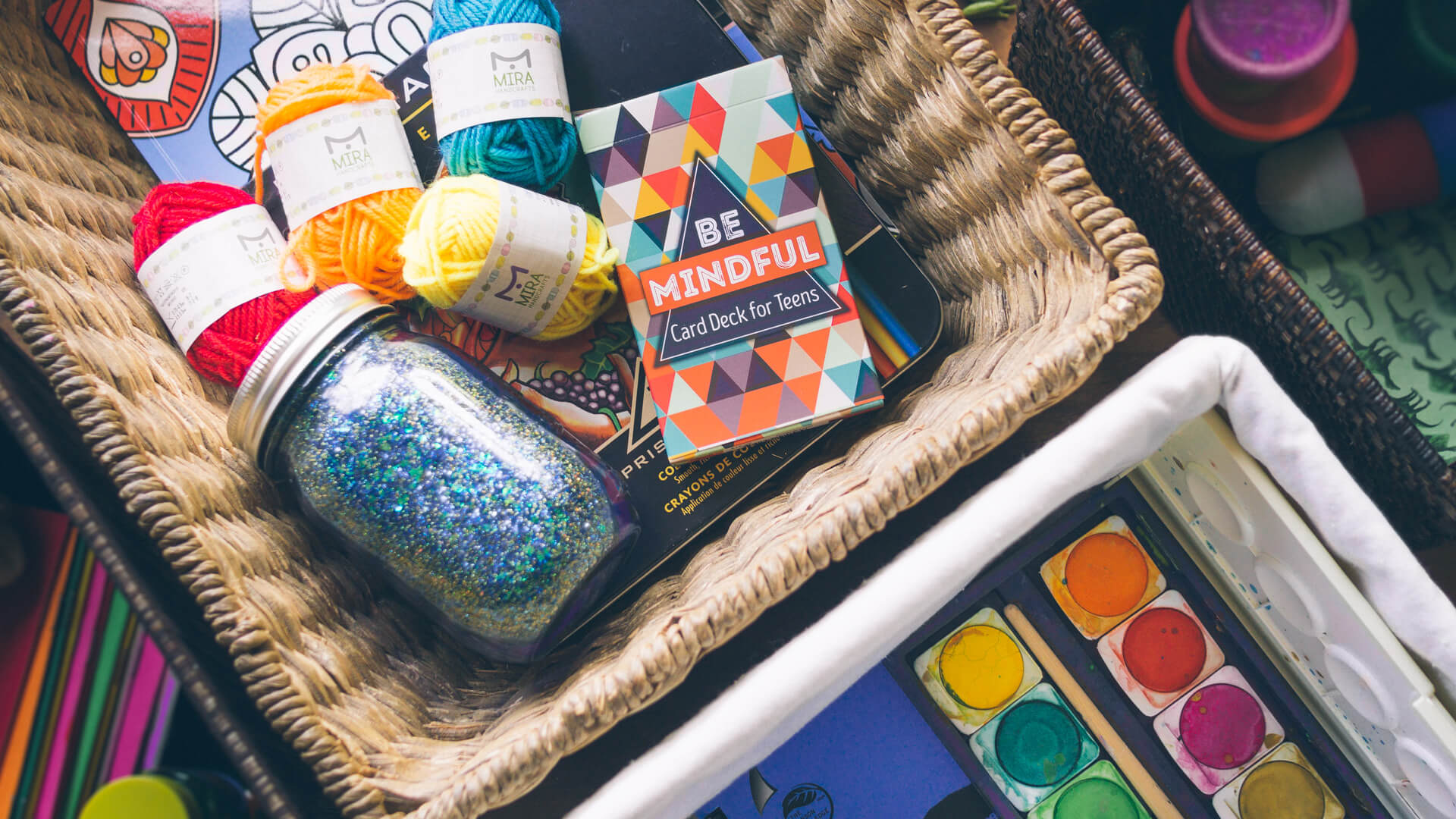 Mindfulness Baskets for Teens